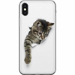 Apple iPhone X / XS Mjukt skal - Katt