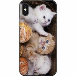 Apple iPhone XS Max Mjukt skal - Katter