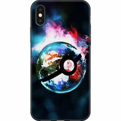 Apple iPhone X / XS Mjukt skal - Pokemon