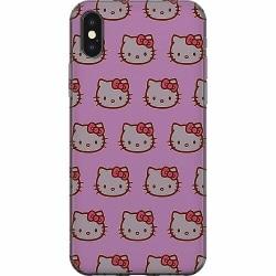 Apple iPhone XS Max Mjukt skal - Hello Kitty