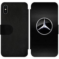 Apple iPhone X / XS Wallet Slim Case Mercedes