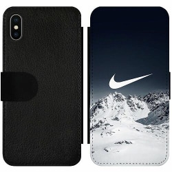 Apple iPhone X / XS Wallet Slim Case Nike