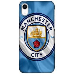 Apple iPhone XR LUX Mobilskal (Matt) Manchester City