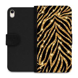 Apple iPhone XR Wallet Case Gold & Glitter