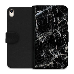 Apple iPhone XR Wallet Case Marmor Svart