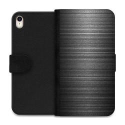 Apple iPhone XR Wallet Case Brushed Metal