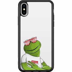 Apple iPhone XS Max Soft Case (Svart) Kermit SUP