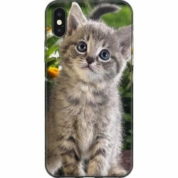 Apple iPhone XS Max Mjukt skal - Cat
