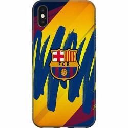 Apple iPhone X / XS Mjukt skal - FC Barcelona