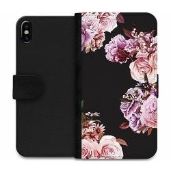 Apple iPhone X / XS Wallet Case Blommor