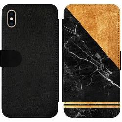 Apple iPhone XS Max Wallet Slim Case Mönster