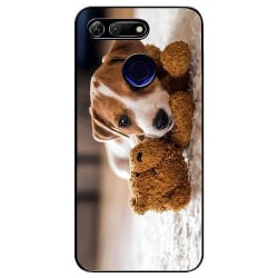Huawei Honor View 20 Soft Case (Svart) Jack Russell