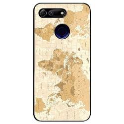 Huawei Honor View 20 Soft Case (Svart) Map