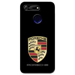 Huawei Honor View 20 Soft Case (Svart) Porsche