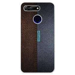Huawei Honor View 20 Soft Case (Frostad) Leather Blue