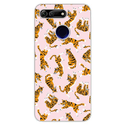 Huawei Honor View 20 Soft Case (Frostad) Tiger