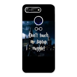 Huawei Honor View 20 Soft Case (Vit) Harry Potter