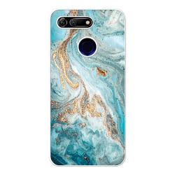 Huawei Honor View 20 Soft Case (Vit) Magic Marble