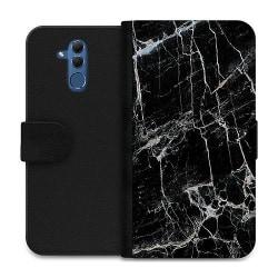 Huawei Mate 20 Lite Wallet Case Marmor Svart