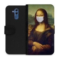 Huawei Mate 20 Lite Wallet Case Mona Lisa Face Mask