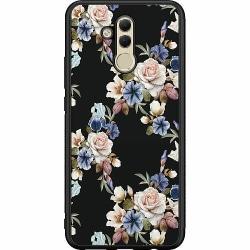 Huawei Mate 20 Lite Soft Case (Svart) Blommor