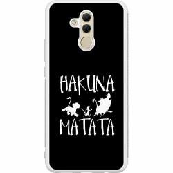 Huawei Mate 20 Lite Soft Case (Vit) Hakuna Matata