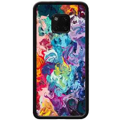 Huawei Mate 20 Pro Soft Case (Svart) Wild Colours
