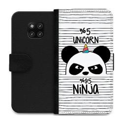 Huawei Mate 20 Pro Wallet Case Ninja Panda With A Twist