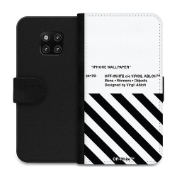 Huawei Mate 20 Pro Wallet Case White Off