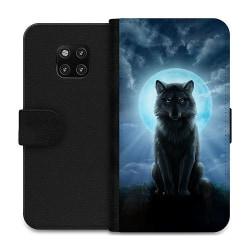 Huawei Mate 20 Pro Wallet Case Wolf in the Dark