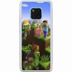 Huawei Mate 20 Pro Soft Case (Frostad) MineCraft