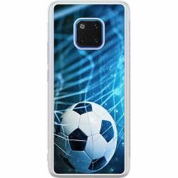 Huawei Mate 20 Pro Soft Case (Frostad) Fotboll