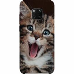 Huawei Mate 20 Pro Thin Case Surprised Kitten