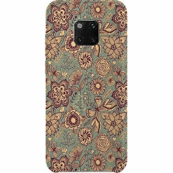 Huawei Mate 20 Pro Thin Case Vintage Flowers
