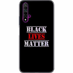 Huawei Nova 5T Thin Case Black Lives Matter