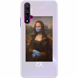 Huawei Nova 5T Thin Case Mona Lisa