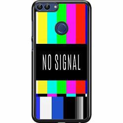 Huawei P Smart (2018) Hard Case (Svart) NO SIGNAL