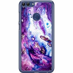 Huawei P Smart (2018) Hard Case (Transparent) Lila