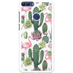 Huawei P Smart (2018) Hard Case (Vit) Kaktus