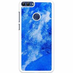 Huawei P Smart (2018) Hard Case (Vit) Spilled Blues