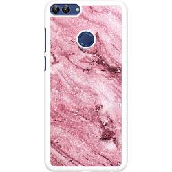 Huawei P Smart (2018) Hard Case (Vit) Glitter Marble