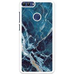Huawei P Smart (2018) Hard Case (Vit) Marmor
