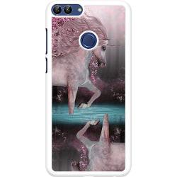 Huawei P Smart (2018) Hard Case (Vit) Unicorn Pond