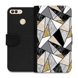 Huawei P Smart (2018) Wallet Case Marble Print