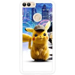 Huawei P Smart (2018) Vitt Mobilskal Detective Pikachu - Pikachu