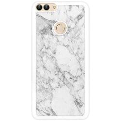 Huawei P Smart (2018) Soft Case (Vit) Marmor Vit
