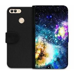 Huawei P Smart (2018) Wallet Case Galaxy