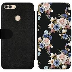 Huawei P Smart (2018) Wallet Slim Case Floral