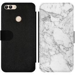 Huawei P Smart (2018) Wallet Slim Case Marmor