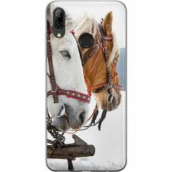 Huawei P Smart (2019) Mjukt skal - Häst / Horse